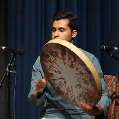 تک نوازی دف در جشنواره موسیقی اصفهان